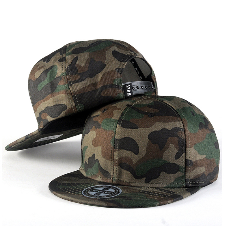 Modern Camouflage Snapback Cap for Street Style Fashion