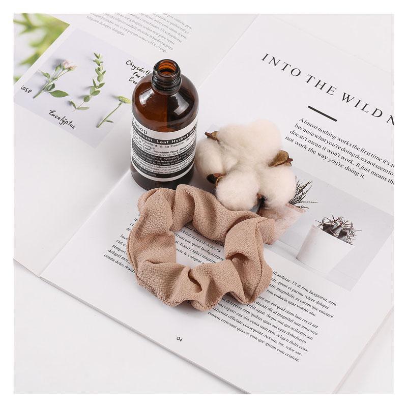 Floral Chiffon Hair Scrunchie