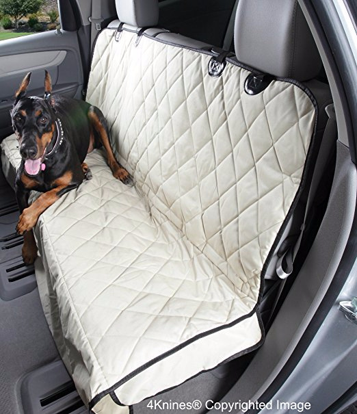 Foldable Oxford Cloth Car Seat Mat for Road Trips with Pets