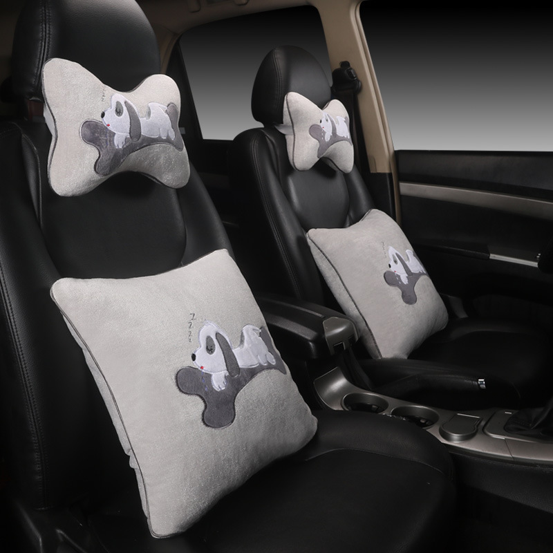 Comfortable and Easy to Clean Car Pillow Set for General Car Supplies