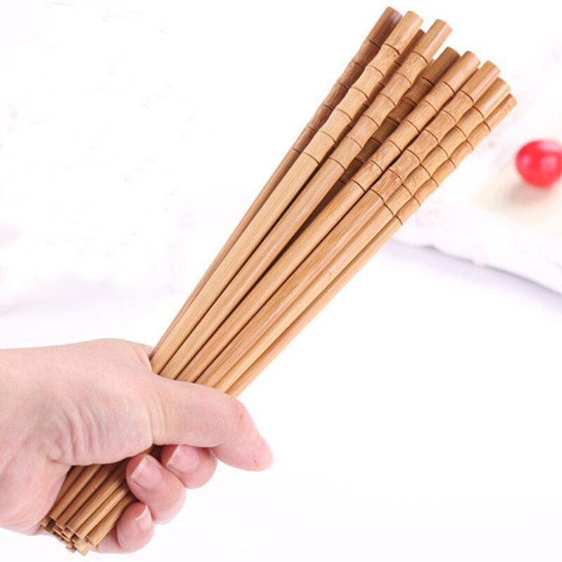 Twenty to Thirty Pairs of Elegant Bamboo Chopsticks for Dining