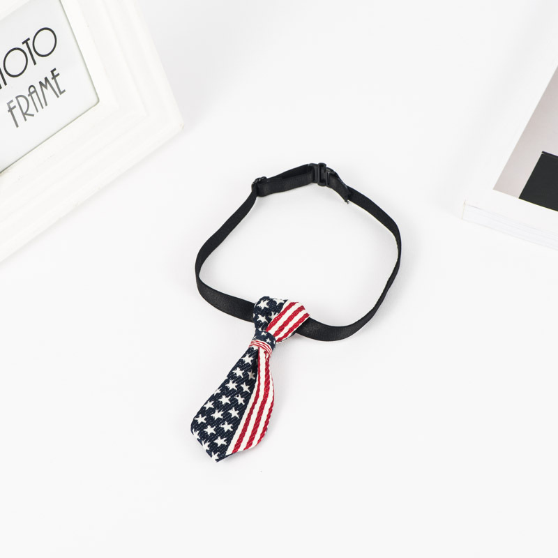 Simple Tie-Designed Dog Collar for Adorable Pet Look