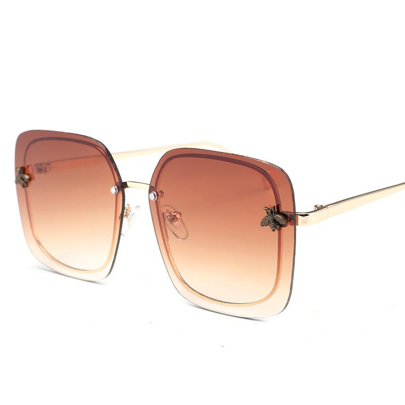 Little Bee Rectangular Sunglasses