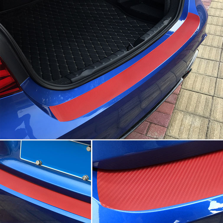 Anti-Scratch Car Fiber Sticker for Protecting Car's Rear Trunk