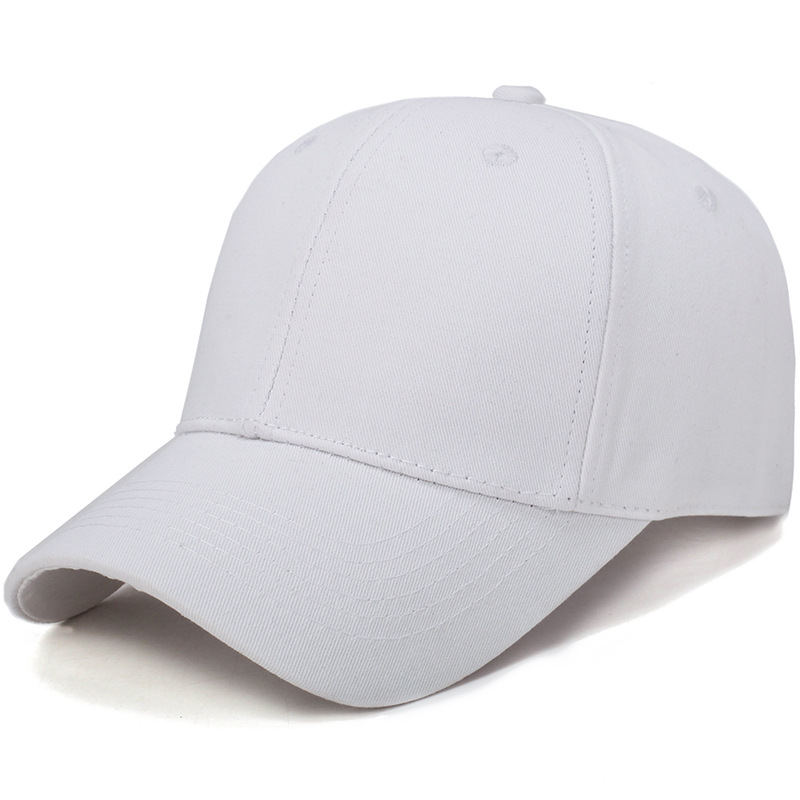 Basic Pure-Colored Baseball Cap for All Fashion Outfits