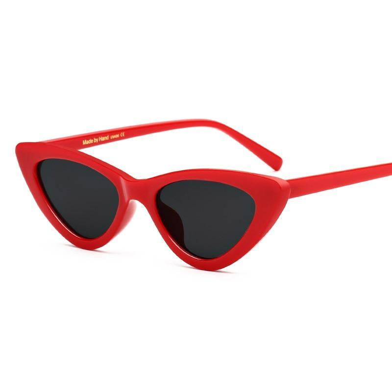 Trendy Small Cat Eye Sunglasses