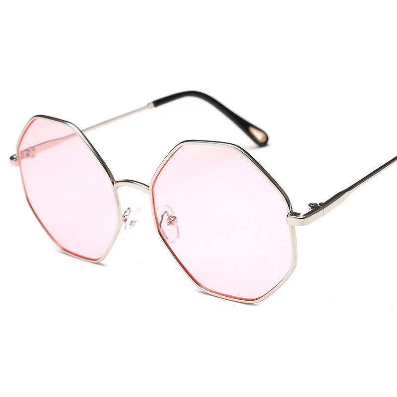 Octagonal Large Sunglasses