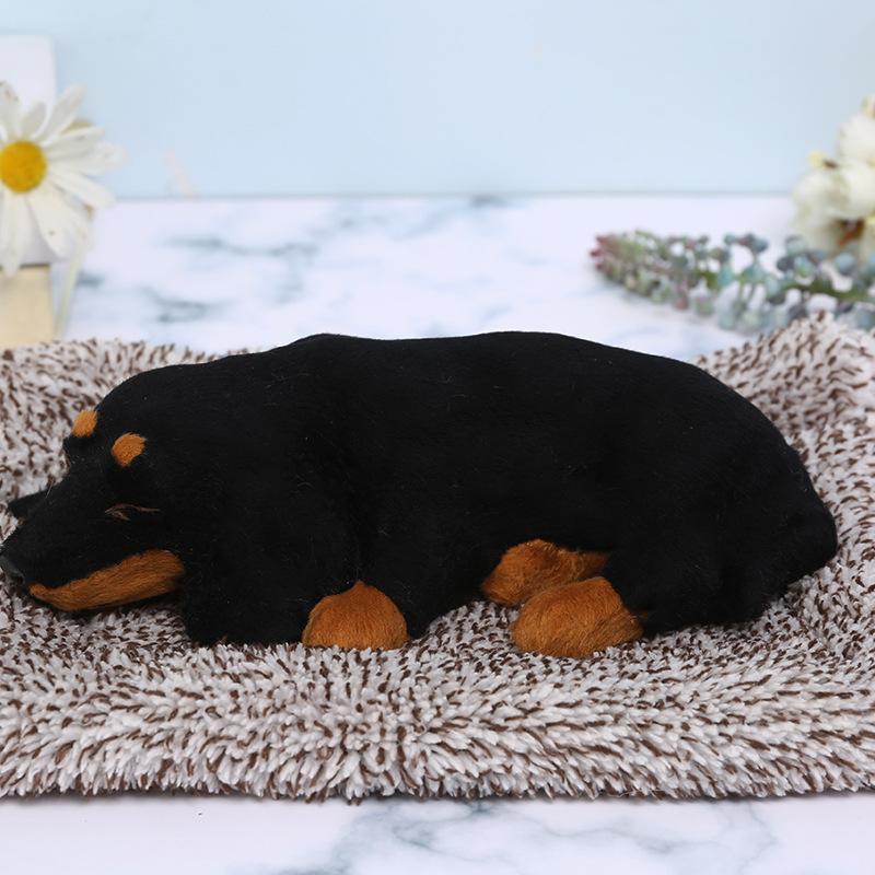 Sleeping Dog Charcoal Bag for Filtering Car Odor