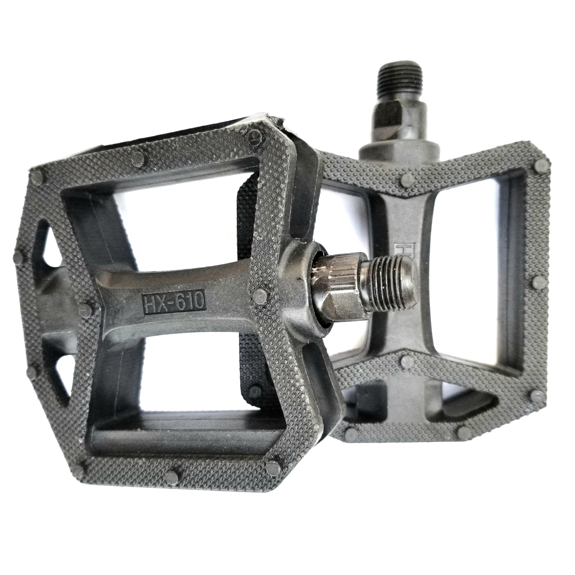 Solidified Plastic Foot Pedal for Basic Bicycle Accessories