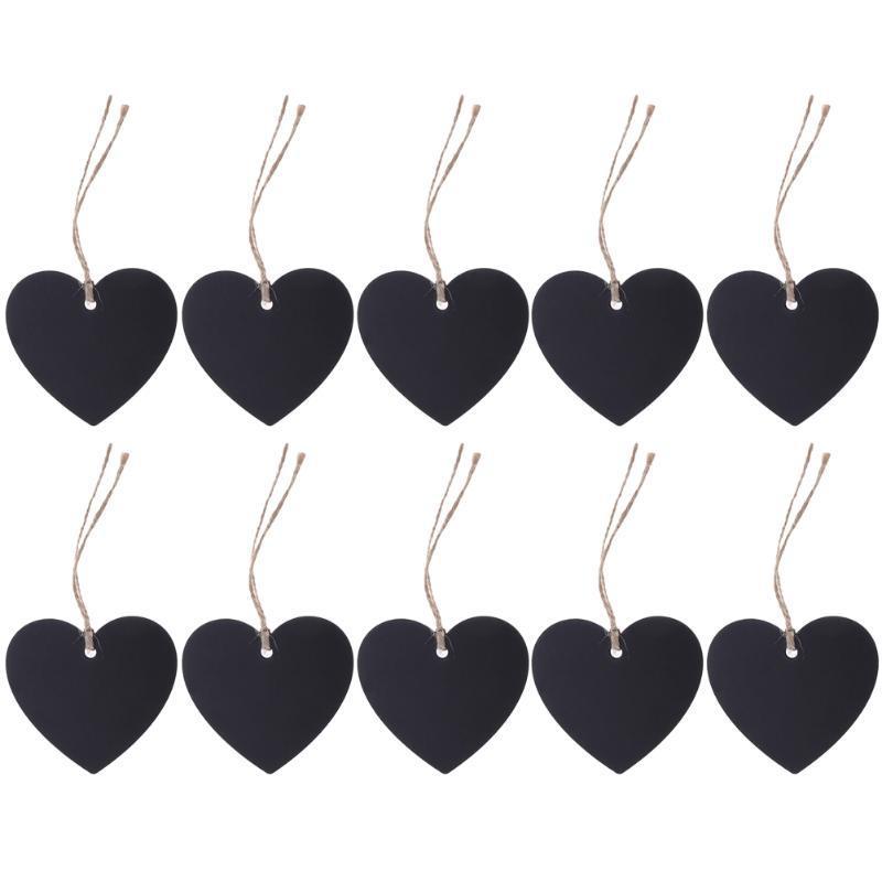 10-Piece Black Hanging Decor for Boutique