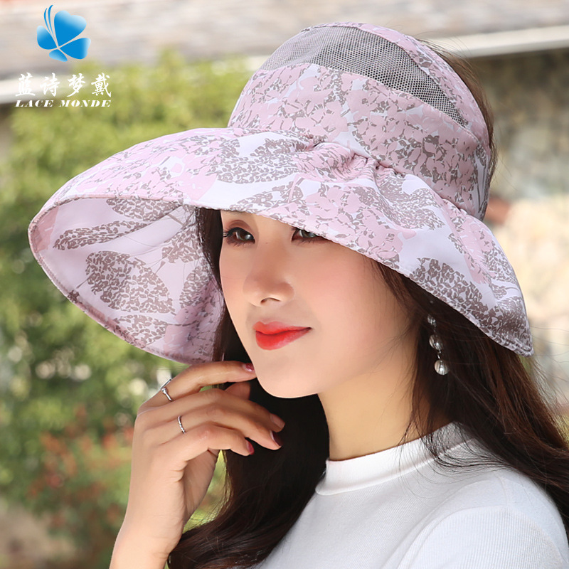 Stylish and Breathable Sunscreen Hat for Summer Travels