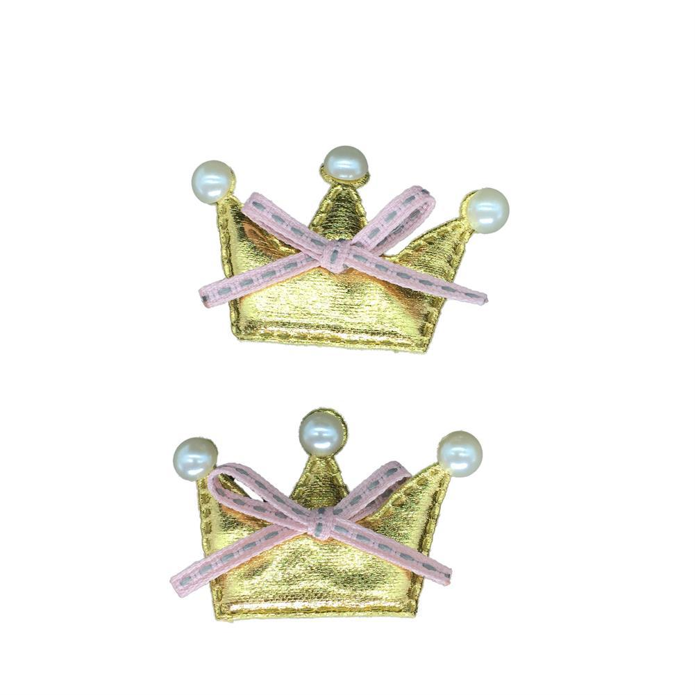 Cute Crown Hairclip for Dogs