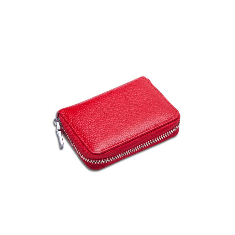 Solid Color Card Holder for Handy Wallets