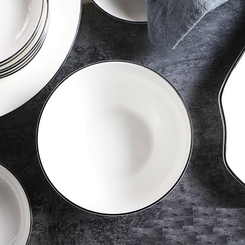 White 14-piece Dinnerware Set