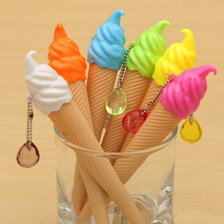 Fun Creative Ice Cream-Themed Pen for Quirky Student Supplies
