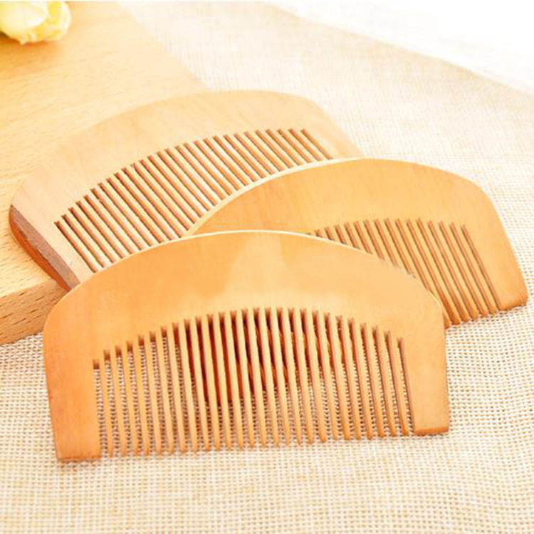 Dense Wooden Comb for Personal Use