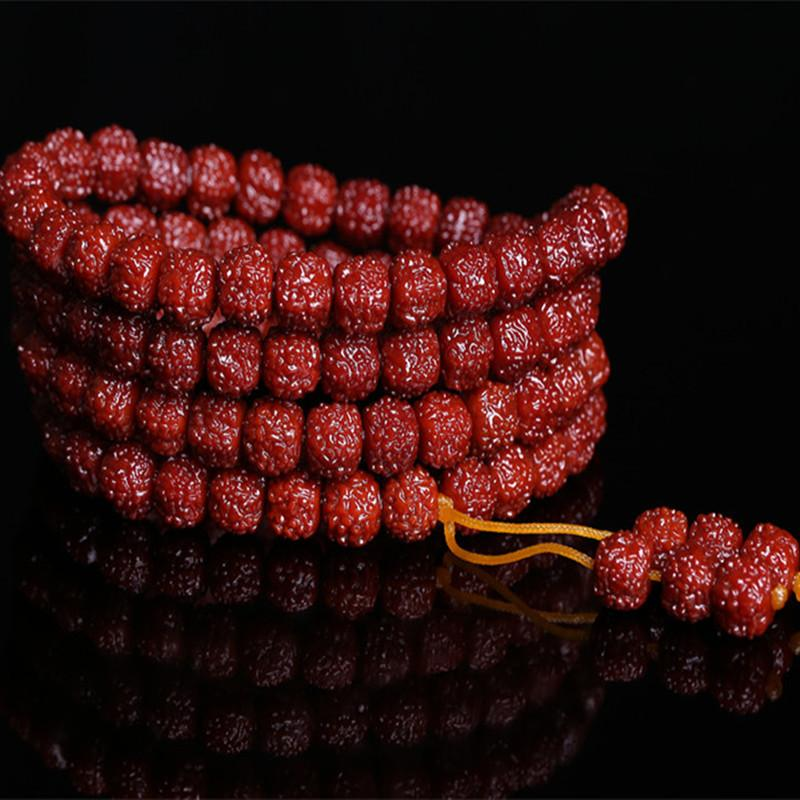 Dragon Scales 108-Bead Bracelet