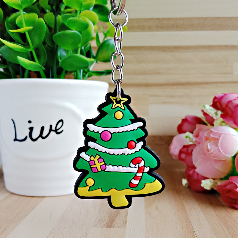 Festive Christmas Keychain for Giveaways