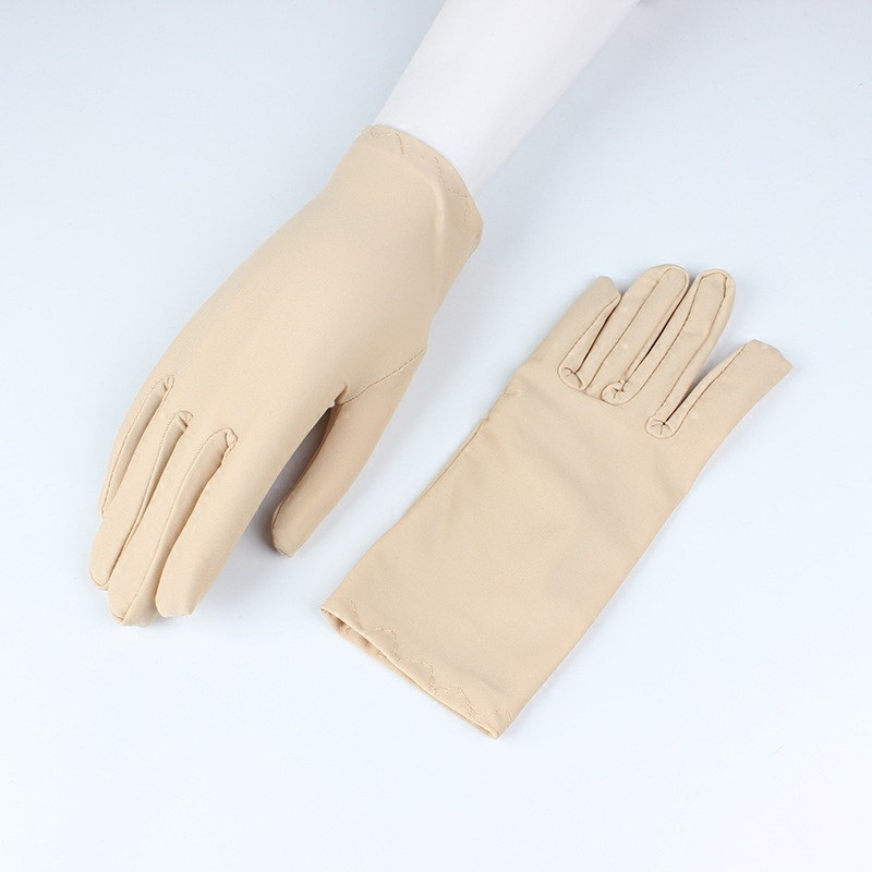 Demure Solid Colored Gloves for Fashionable Accessories