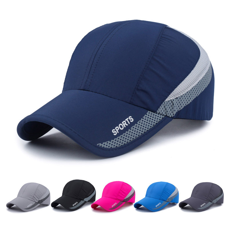 Water Repellent Breathable Baseball Cap for Outdoor Sports Activities