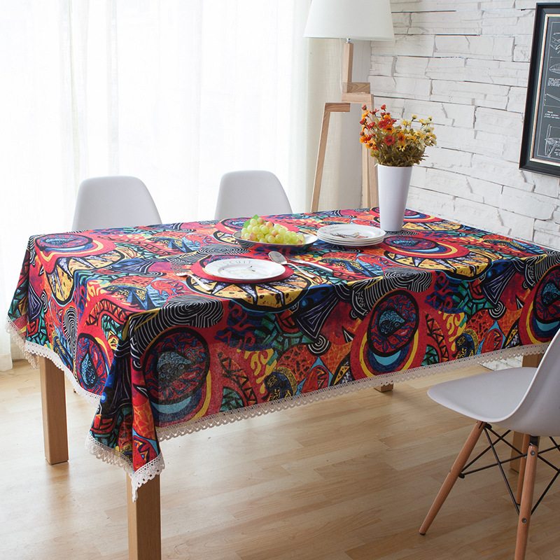 Stylish Dinner Table Cloth for House Decoration