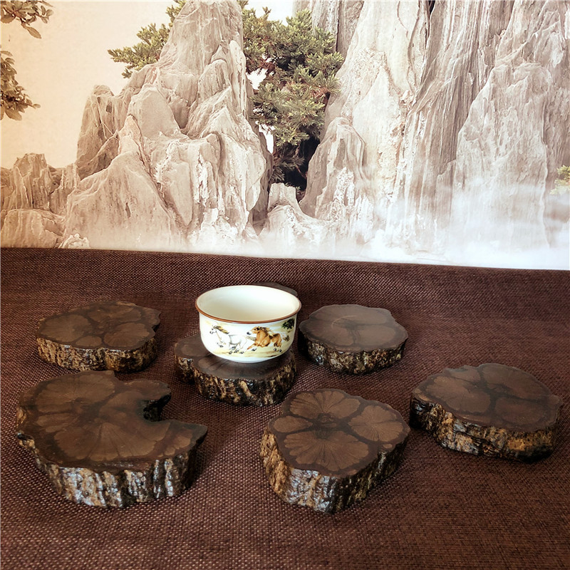 Imitation Wood Coaster for Outdoor Dining Tables