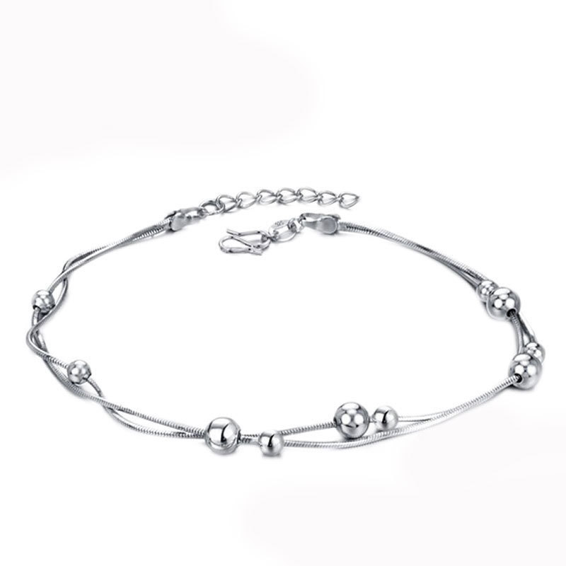Silver Jingle Balls Bracelet