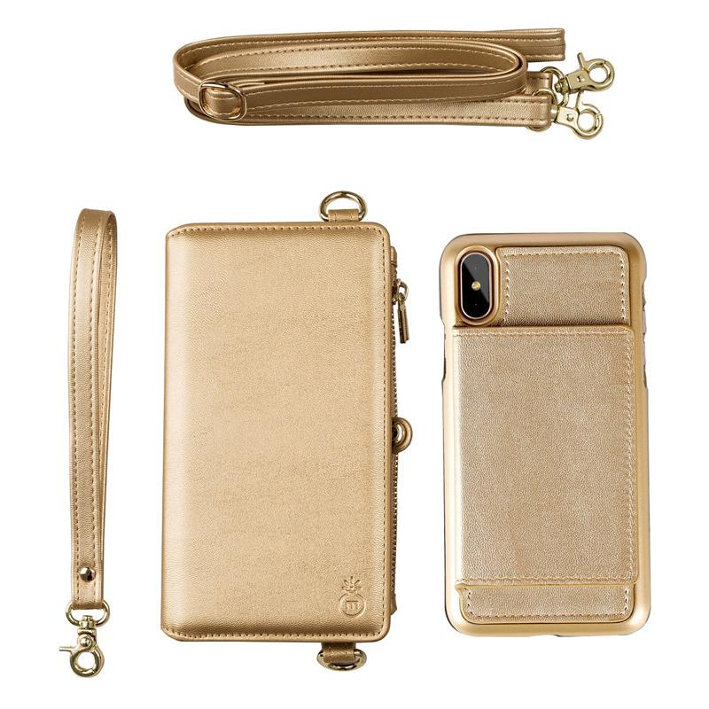 iPhone Multi Functional Leather Case
