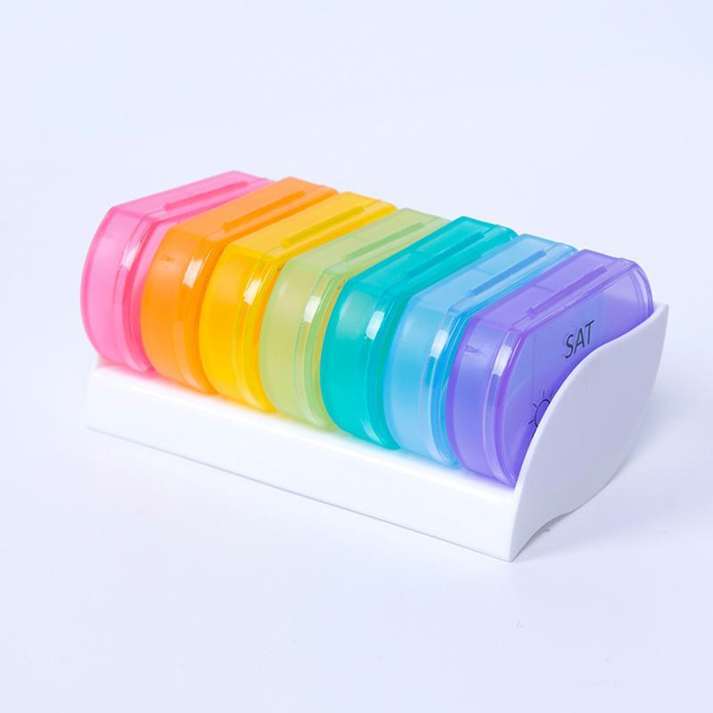 Small Rainbow Medicine Box