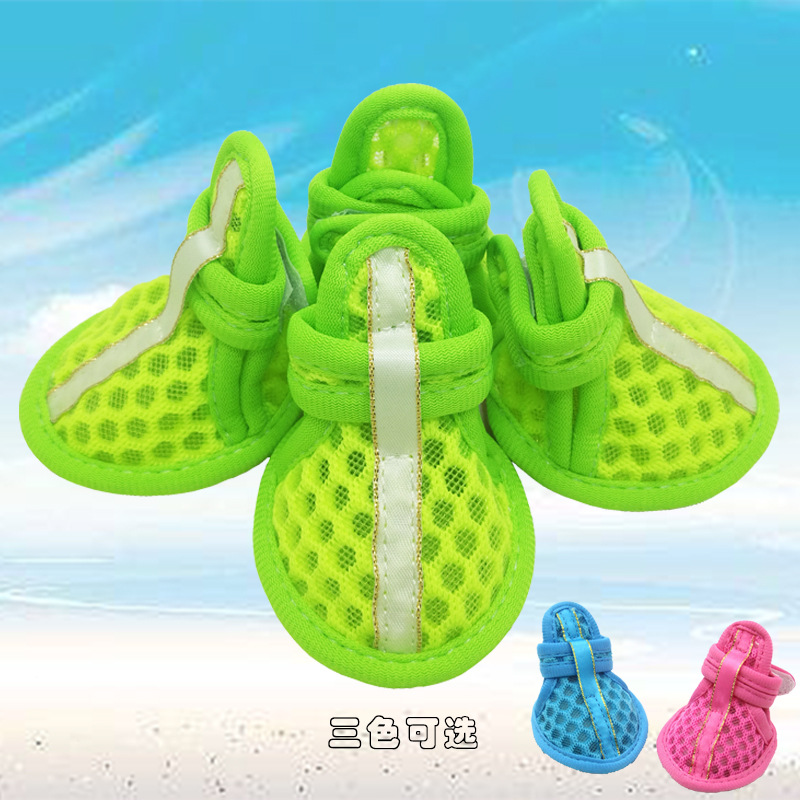 Unique and Breathable Teddy Sandals for Small Dogs