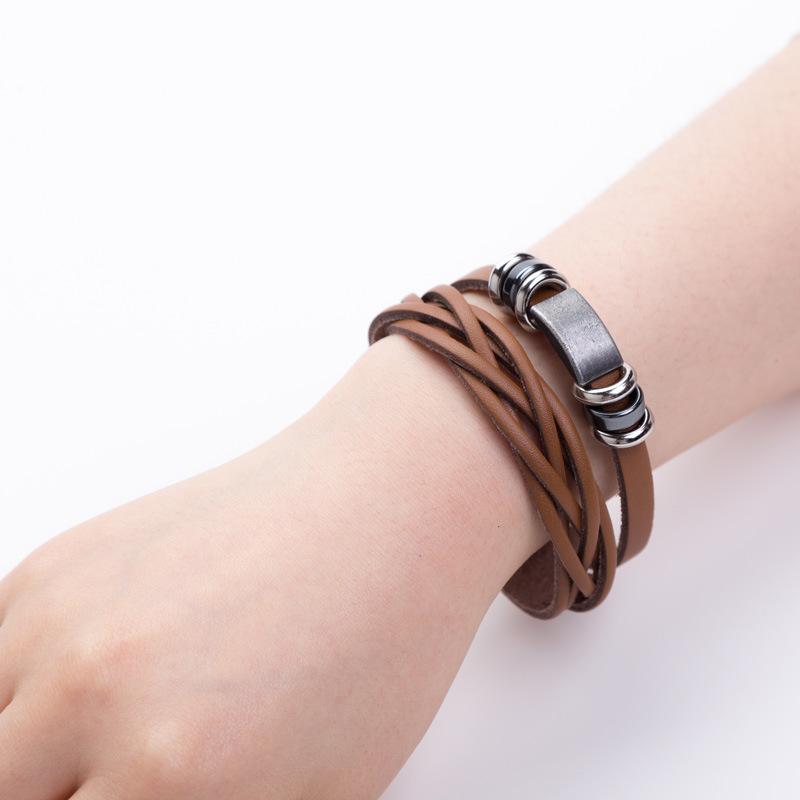Fatille Synthetic Leather Bracelet