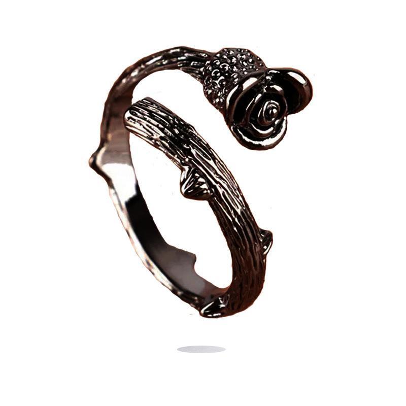 Charm Rose Retro Ring