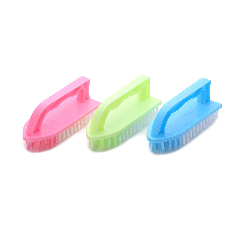 Pastel Colored Cleaning Brush for Multipurpose Household Use