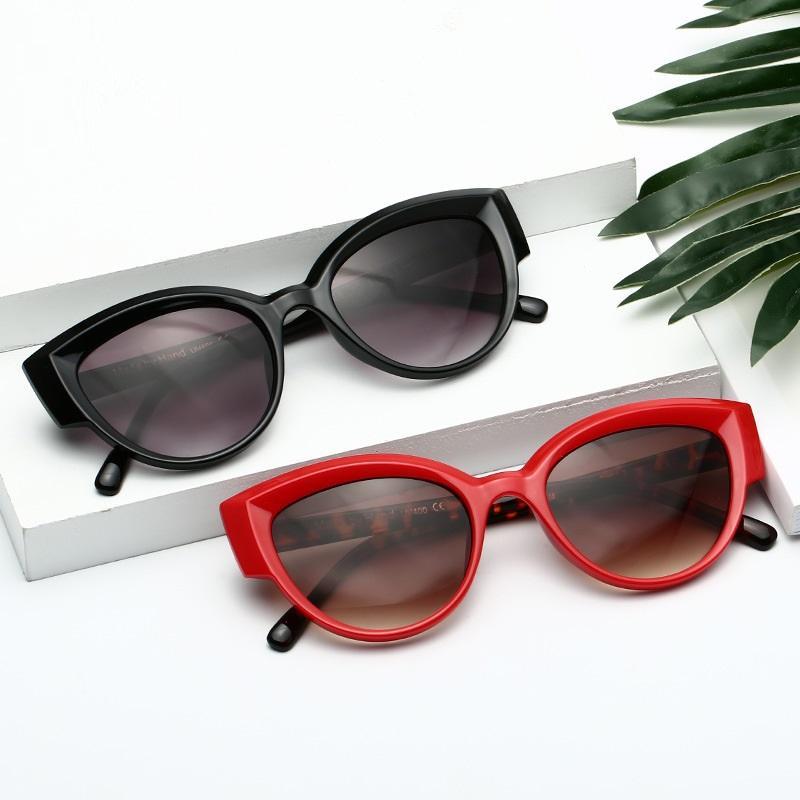 Sophisticated Cat Eye Sunglasses