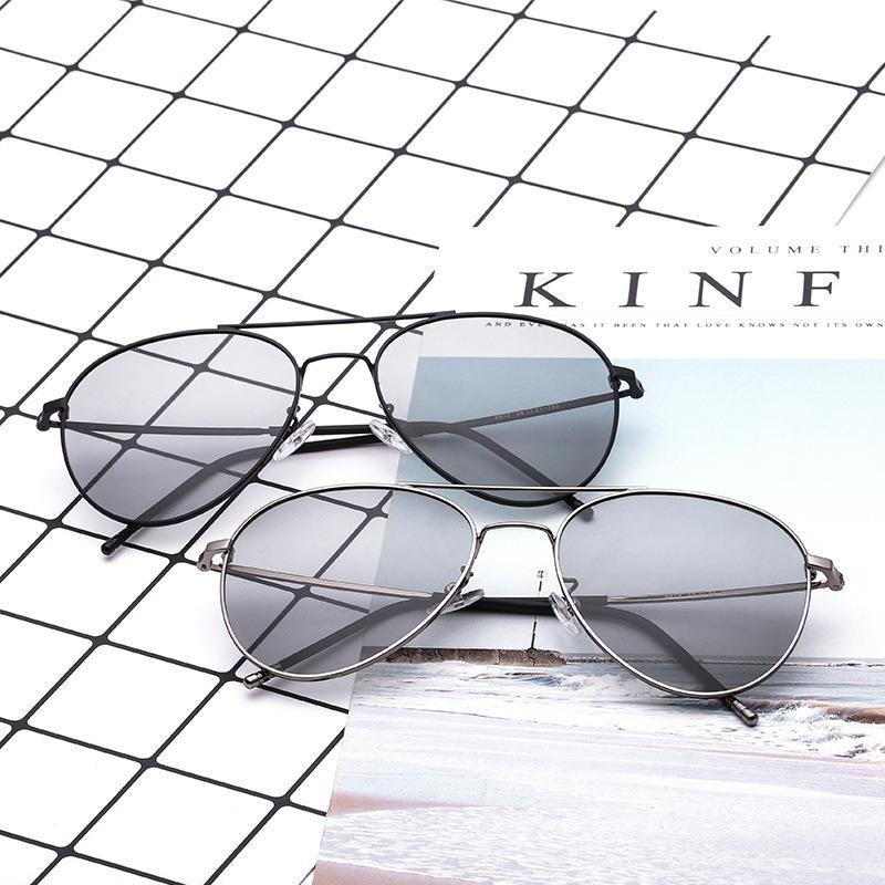 Gray Lens Aviator Sunglasses