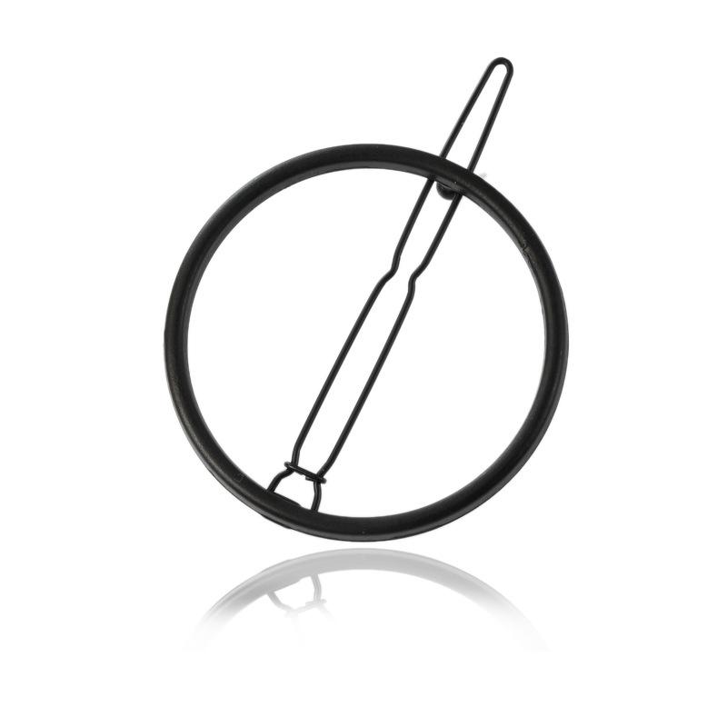 Minimalist Circle Hair Clip