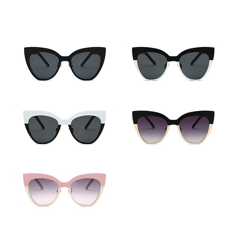 Two Tone Cat Eye Sunglasses