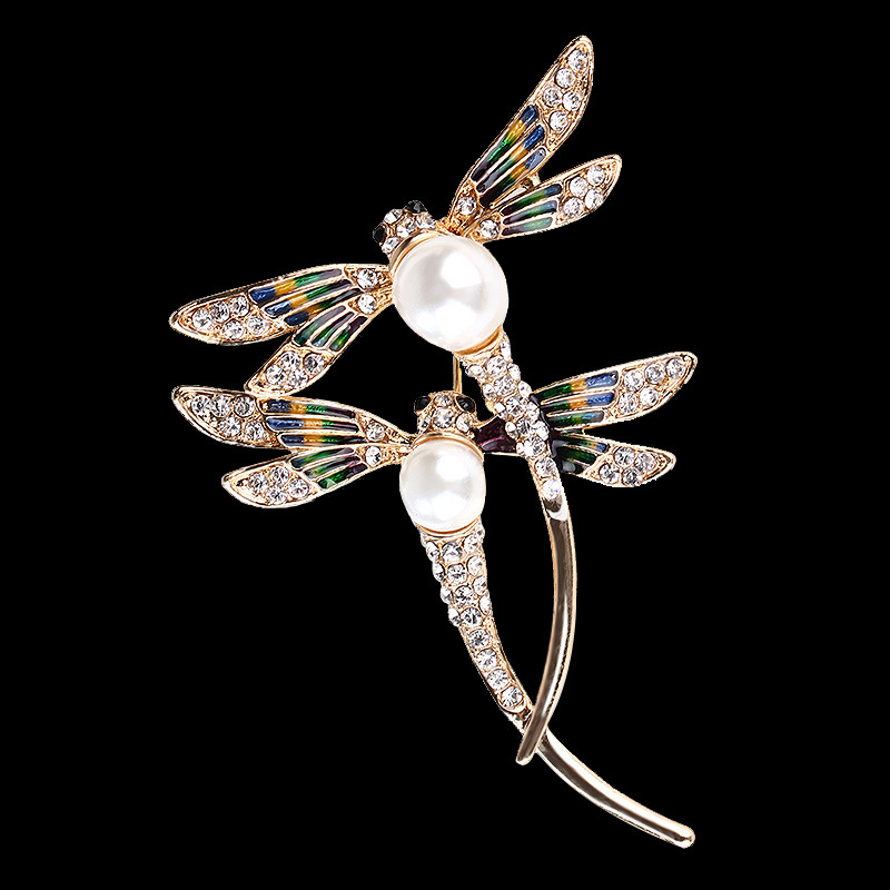 Destined Dragonfly Soulmates Pin for Weddings