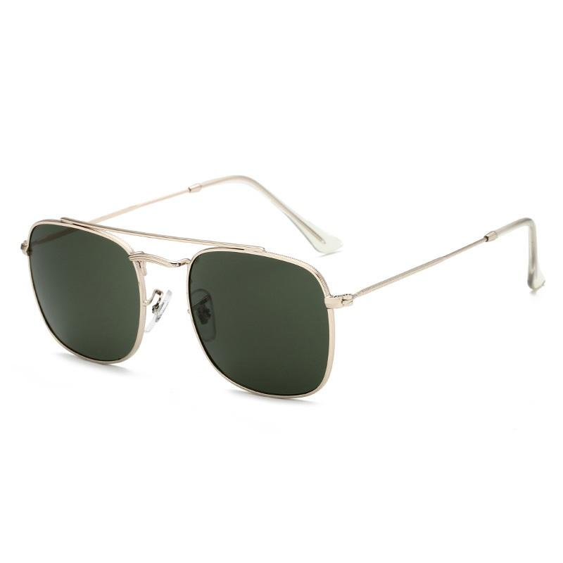 Albin Small Rectangular Sunglasses