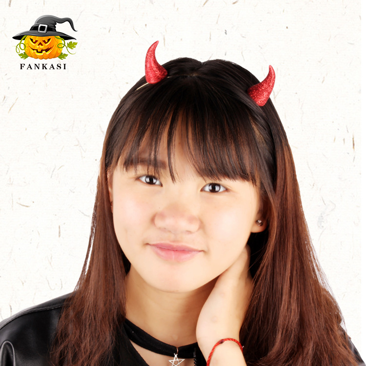 Visible Devil Horn Headband for Halloween Accessories