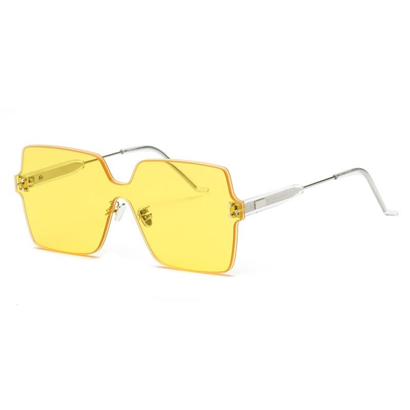 Frameless Colored Butterfly Sunglasses
