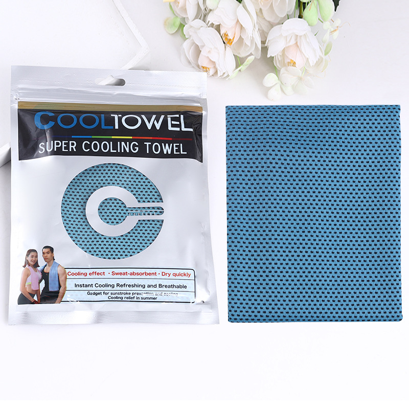 Cooling Bamboo Fiber Towelettes