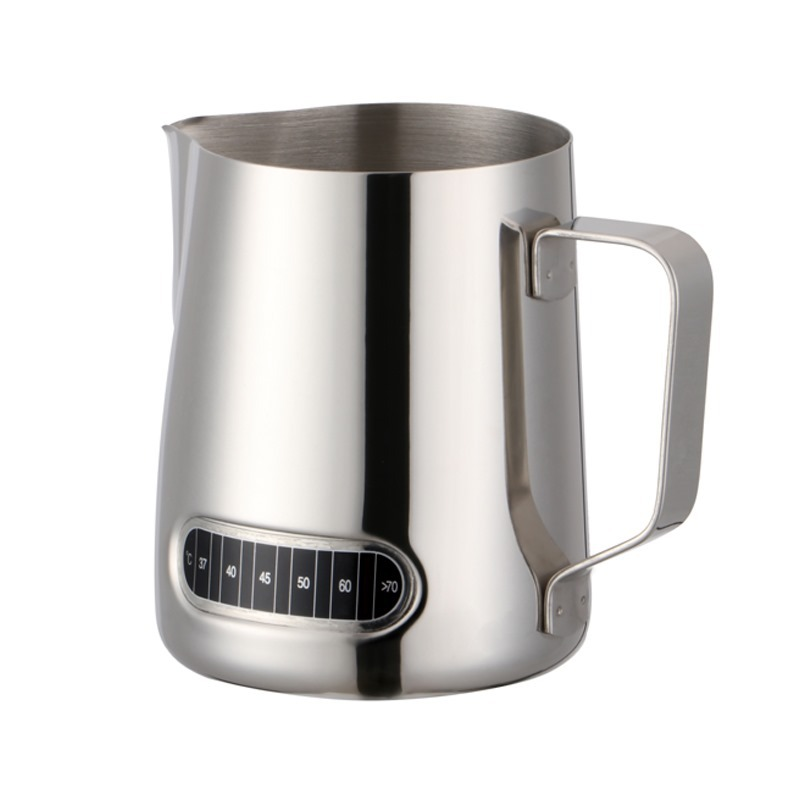 Stainless Steel Milk Frothing Jug for Brewed Coffees
