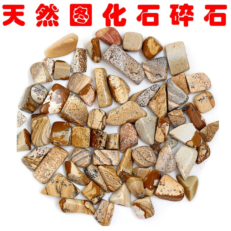 All-Natural Fossil Wood Alexandrite Gravel Stones for Garden Decorations