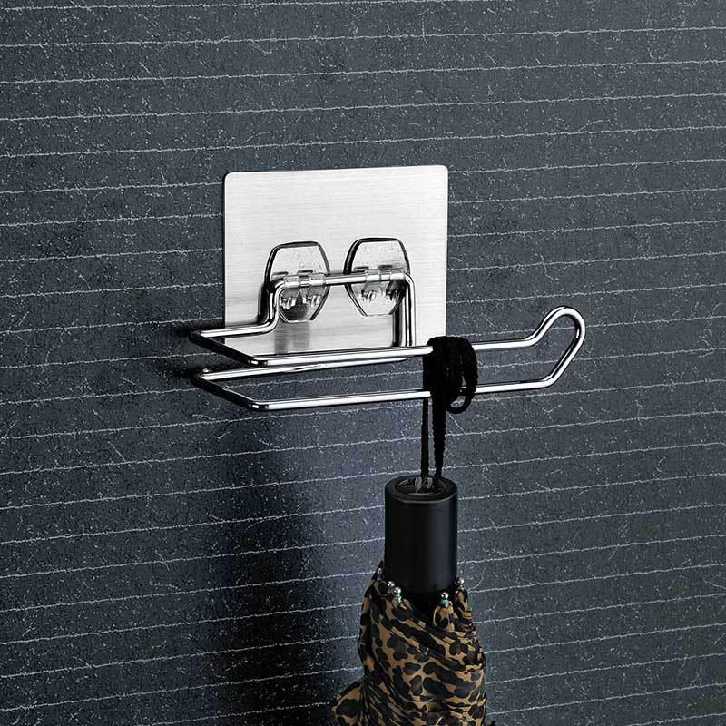 Simplistic Wire Tissue Rod for Bathroom