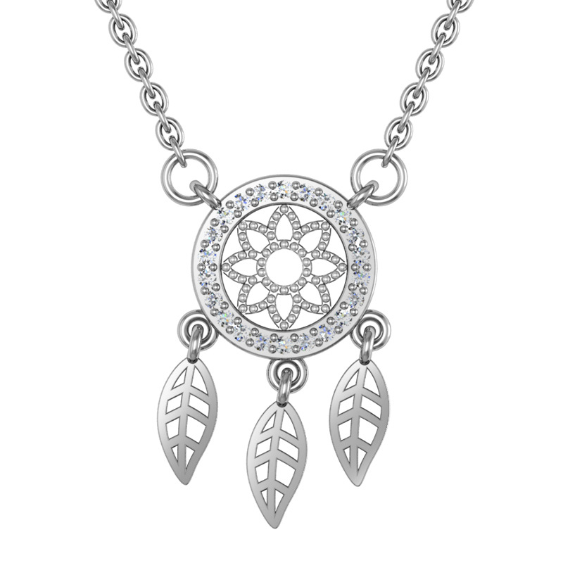 Exquisite Dreamcatcher Necklace for Anniversary Gifts