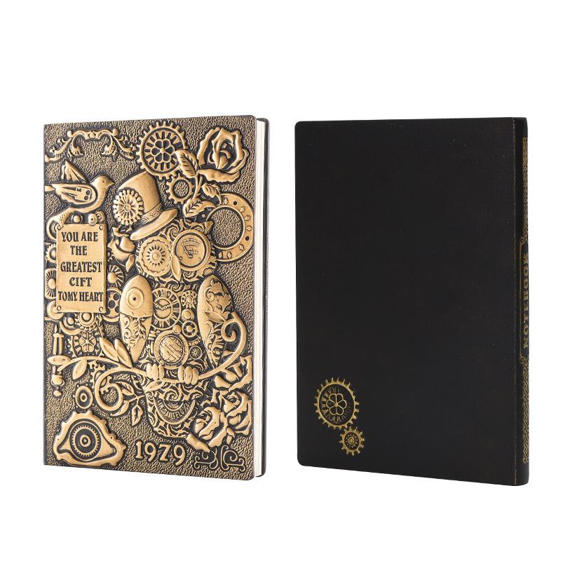 Steampunk Owl Notebook