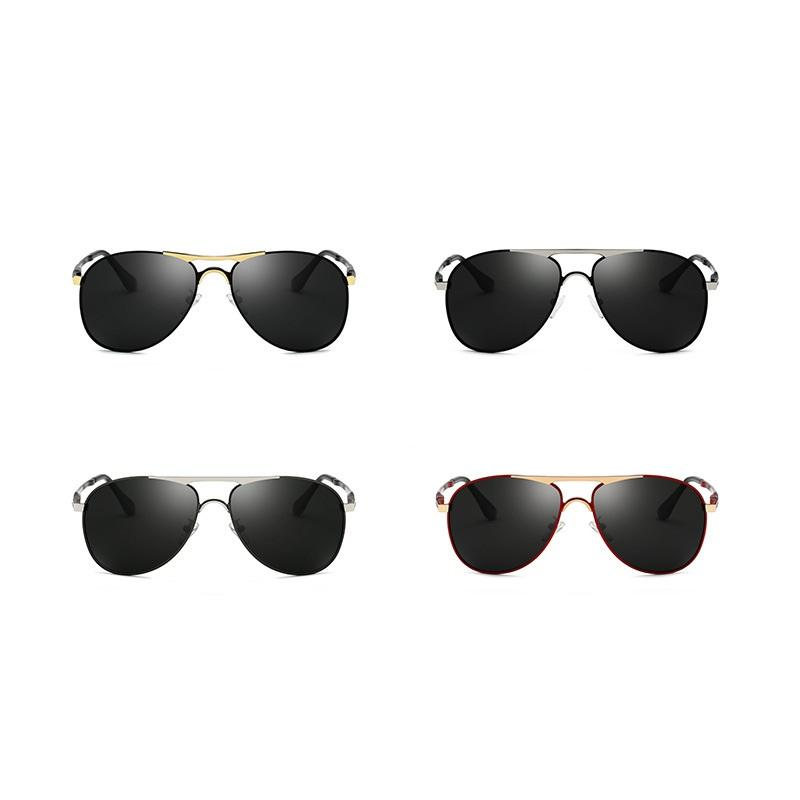 Colored Frame Aviator Sunglasses