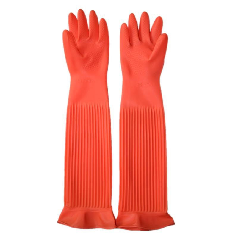 Non-Slip Working Rubber Gloves for Dishwashing