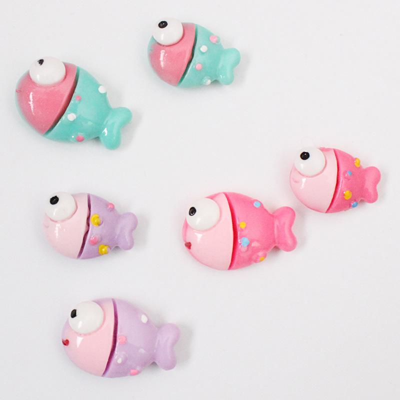 Pastel Fish Fridge Magnet for Home Accessories